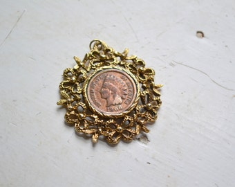 1960s Pendant with a 1906 Penny