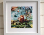 Set of 5 Cards Nr:1 by Alexander Jansson