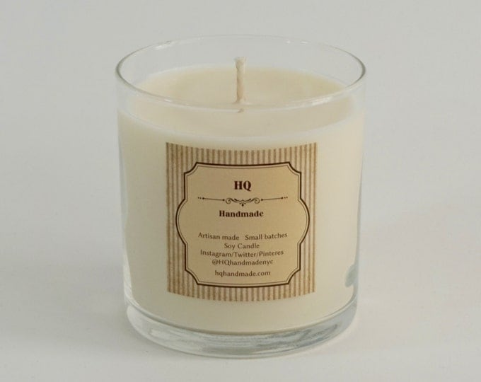 Soy Candles - Scented Natural Soy Wax Candle - Glass Tumbler - 14 oz - Soy Candles