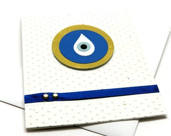 Evil Eye Cards - All Seeing Eye - Friendship Cards - Encouragement Cards - Just Because - Thinking of You - Blank Greeting Cards