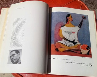 Modern Art in Advertising book 1946 by Paul Theobald for the Art Institute of Chicago and Container Corporation of America