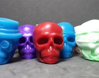Set of 3 Skulls