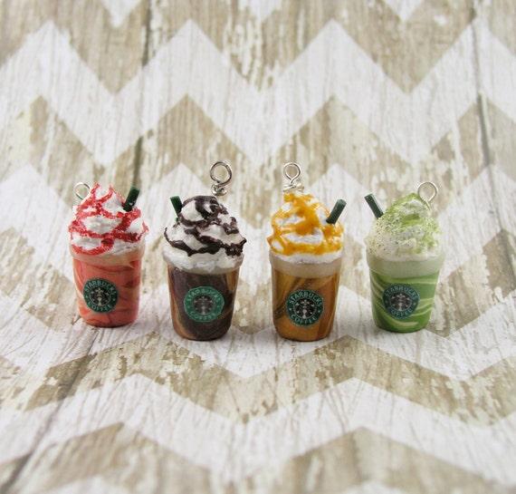 Starbucks Frappuccino Polymer Clay Charm