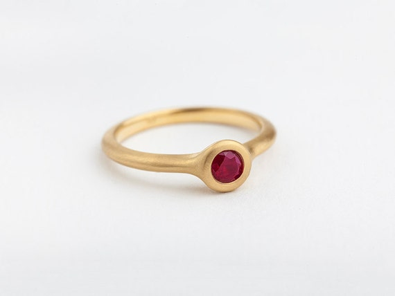 large ruby ring simple ruby ring stack ring ruby engagement