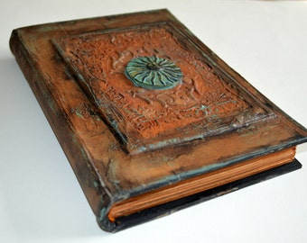 """Spellbook, Journal, Travel Journal ,  Book of Shadows, Notebook, Diary """" The Guardians of the Sun"""""""