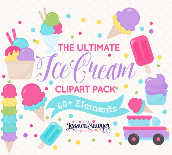 clip art ice cream party - photo #27