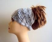 Paisley Headband Yoga Headband Fitness Headband Running Headband Bandana Dreadlock Headband