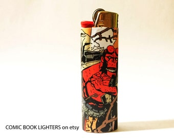 Hellboy Comic Book Lighter