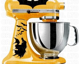 Batman Mixer Decal