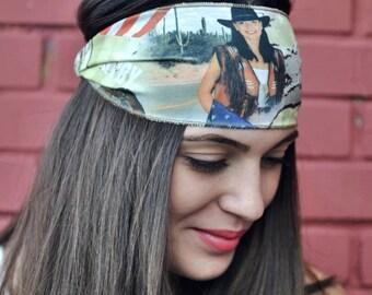 Elastic Jersey Turban, Handmade Headbands, Hippie Headband, Fashion Headbands, Womens Head Wraps, Vintage Headbands, Hair Accessories