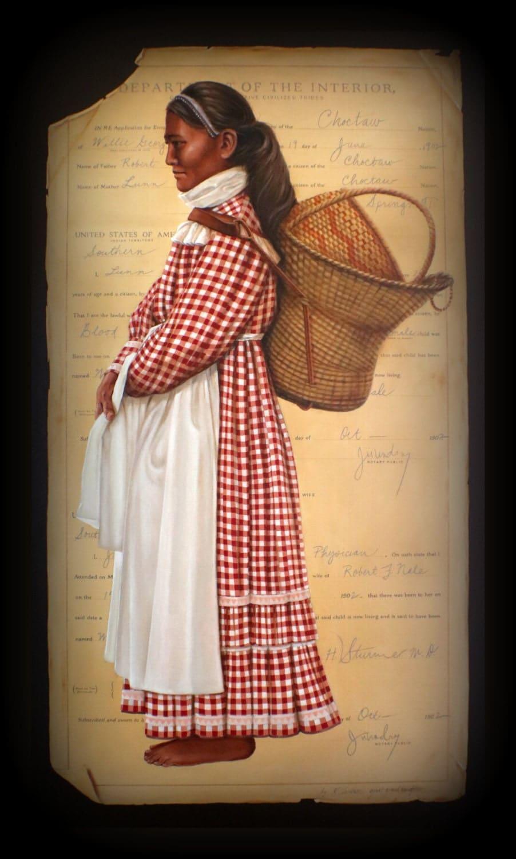 choctaw woman