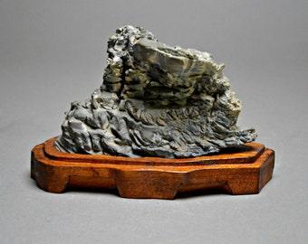 Japanese Scholars Stone. Suiseki. Japanese Zen Rock Garden. B 11