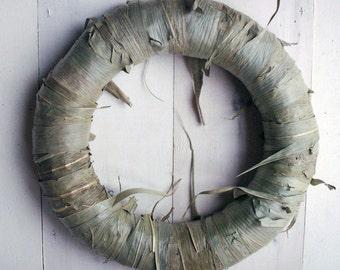 """Corn Leaf Wreath 11"""" (27 cm)"""