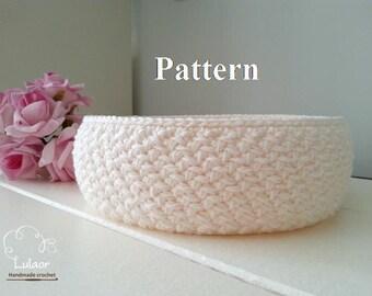 Pattern for crochet basket