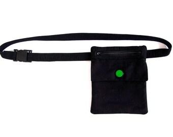 "Fanny pack ""Zima"" - festival bag, custom design available"