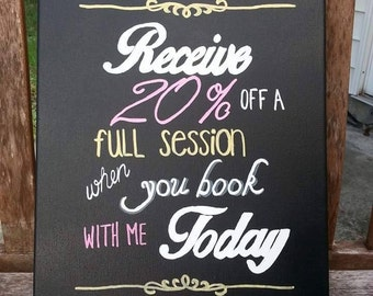 Business Signs- Chalkboard- Photography- Promotional Signs