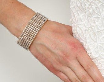 Gold Bracelet, Wedding Bracelet, Bridal Jewelry, Wedding Jewelry, Statement Bracelet, Gold Cuff Bracelet, Joti Gold Wedding Statement Cuff