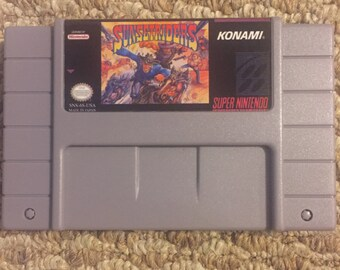 SALE! Sunset Riders Reproduction Super Nintendo Nintendo SNES Game. 16 bit Works on Retron 5!