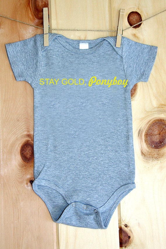 Stay Gold, Ponyboy onesie