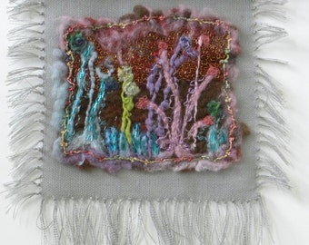 Felted Walllhanging
