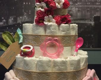 Baby Bloom Diaper Cake