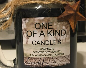 ONE OF A KIND  All Natural Scented Soy Candles