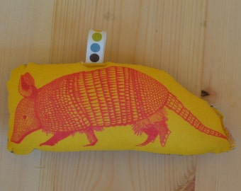 Desert Armadillo Plush Rattle
