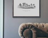New York Cityscape Premium Art Print