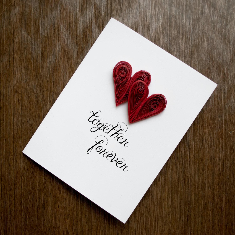 Valentines day card anniversary valentine
