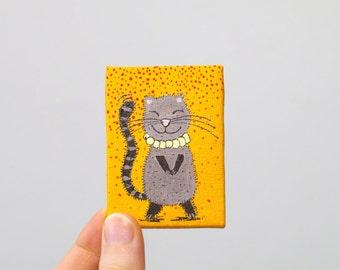 Miniature art Miniature paintings on canvas Acrylic Mini canvas Acrylic paintings original Small canvas art Mini painting canvas Mini art