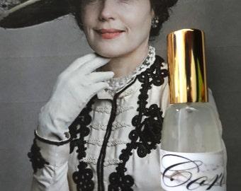 Cora Perfume Spray 1/3 oz. Downton Abbey Inspired, Victorian Perfume, Feminine Perfume, Soft Floral Perfume, Downton Abbey Scent