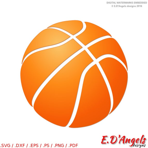 ... clipart - Basketball cut file - Basketball vector - SVG files