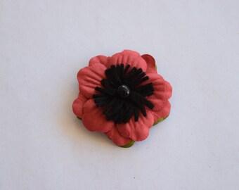 Paper Poppy Magnet