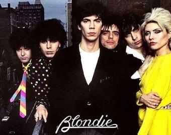 Blondie Debbie Harry  Rare Poster