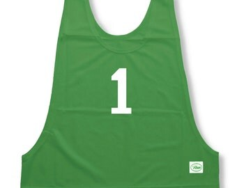 Numbered Sports Practice Pinnies (Pennies)