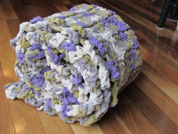Happy Lil' Marshmallow Blanket Baby Girl Lilac by