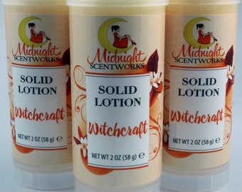 Enchanted Solid Lotion - Compare to Love Spell - Vegan Solid Lotion Bar - Lotion Stick - Gifts Under 10 - Shea Butter Lotion - Gift for Her