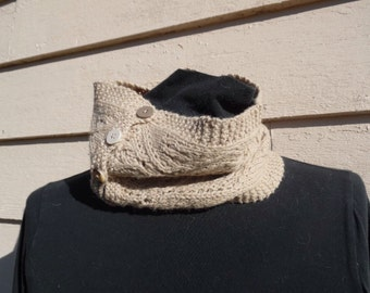Lacy Cowl - knit