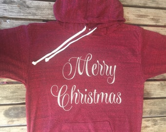 Christmas  sweater. Christmas  hoodie.Merry  Christmas Sweatshirt. Santa sweater. Made by ThinkElite1.