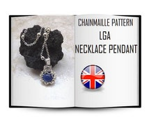 Earthquake Italy Aid-Tutorial DIY, Pattern LGA Necklace Pendant, chainmaille tutorial, Mother's Day Gift. Not a Romanov chainmaille!