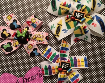 Super fun School bows