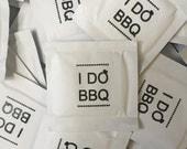 I DO BBQ DIAMOND Wet Naps - Pack of 100 Moist Towelettes