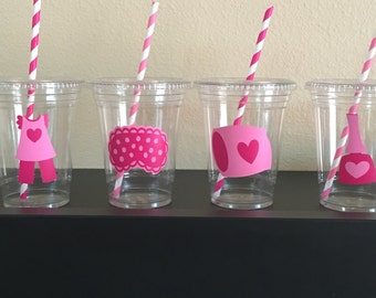 Pajama party cups
