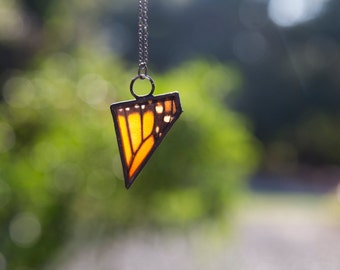 California Monarch Butterfly Necklace