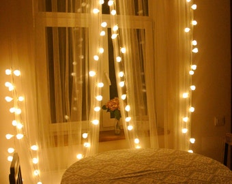 10m 100 LED bulbs wedding lights garland, string lights, 100 LED bulbs, Home lights, bathroom lights, string lights, fairy lights