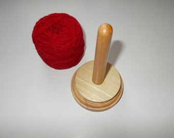 Wooden WOOL/YARN HOLDER, spinner