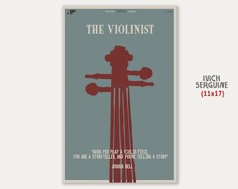 The Violinist (11x17)