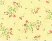 SALE!! 1 Yard Sundrops by Corey Yoder for Moda - 29011-12  Floral Blooms Yellow