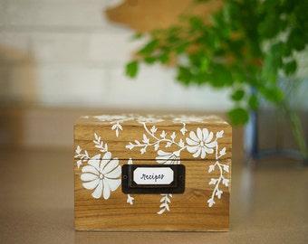 Stain My Recipe Box