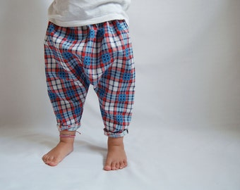 Baby Harem Pants, Toddler Pants, Cotton Pants, Trousers